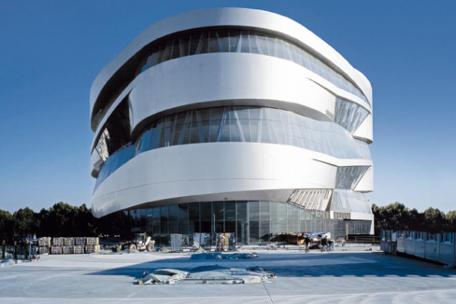 RAICO THERM+ S-I, Mercedes-Benz Museum, Stuttgart