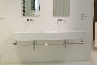 56 LEONARD STREET washing basin double  by  Rapsel