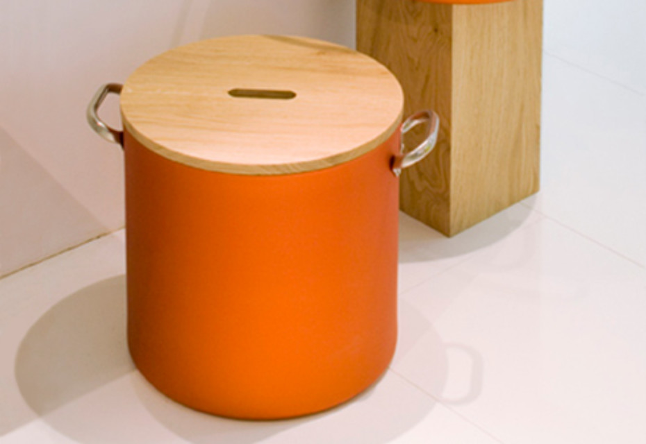 CHEF stool-container
