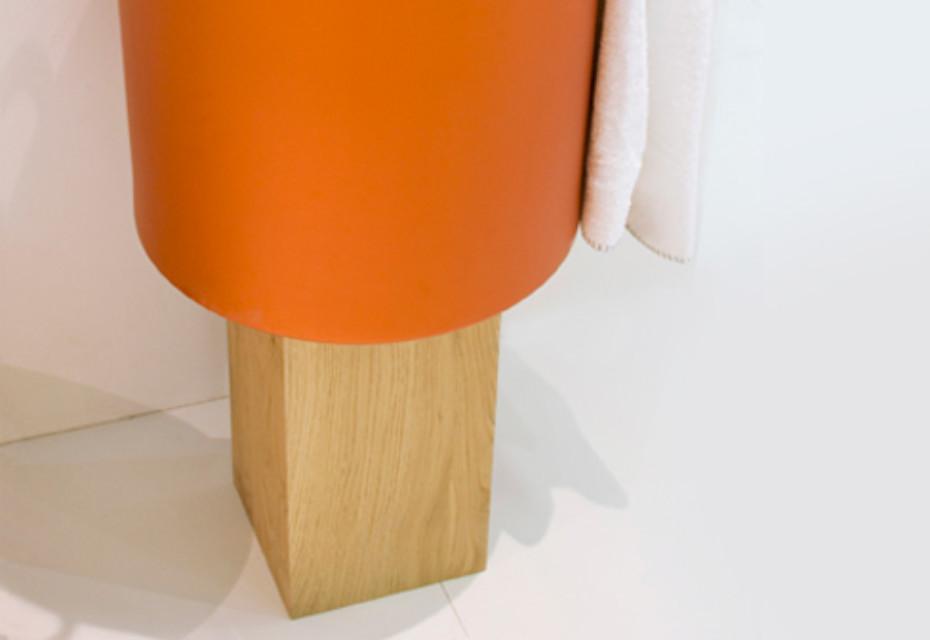CHEF wood stump for washbasin