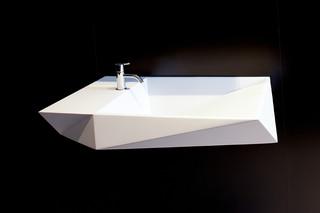 CRYSTALLINE washing basin  by  Rapsel