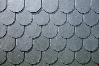 Schiefer Decorative cladding with coquettes  by  Rathscheck