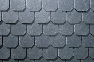 Schiefer Decorative cladding with octagons  by  Rathscheck