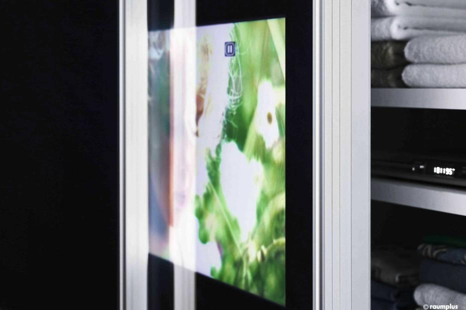 Gleittürsystem S1500 asysm. mit Monitortür