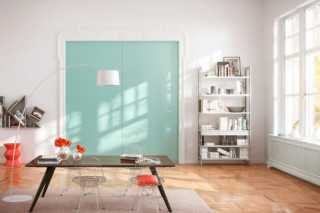 Pocket Door sliding door system wooden door interior system Cornice  by  raumplus