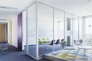 Wall partitioning sytem S1500 sliding door system wood door   by  raumplus
