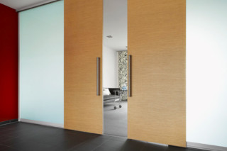 Partition system S1500 sliding door system wooden door   by  raumplus