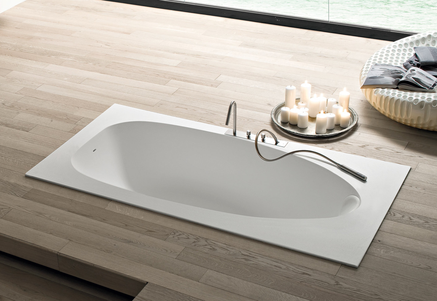 Boma bathtub recessed by Rexa Design | STYLEPARK