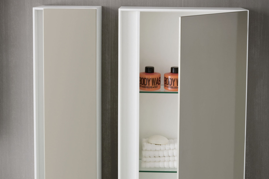 Ergo-nomic wall cupboard