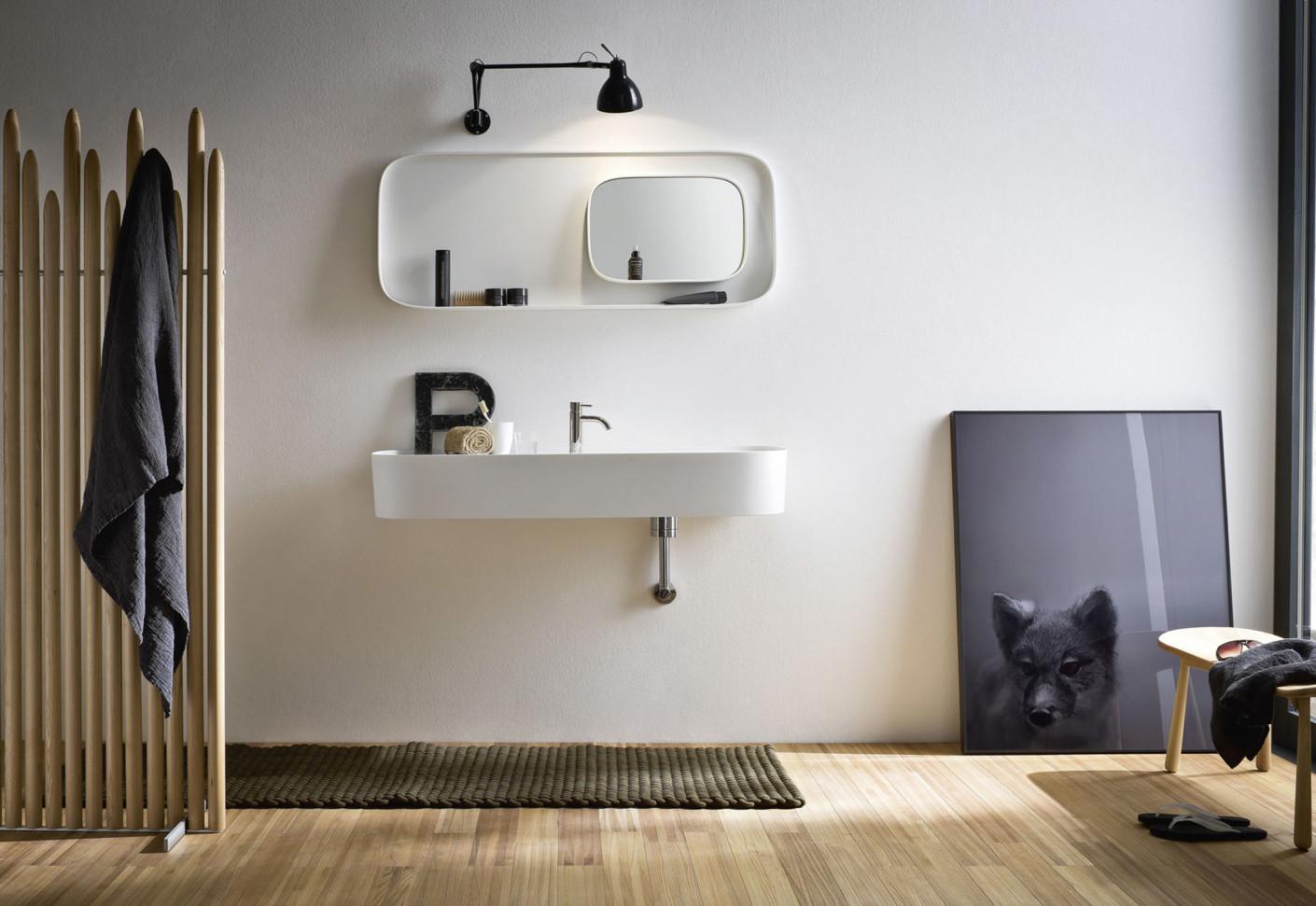 fonte waschbecken schmal von rexa design stylepark. Black Bedroom Furniture Sets. Home Design Ideas