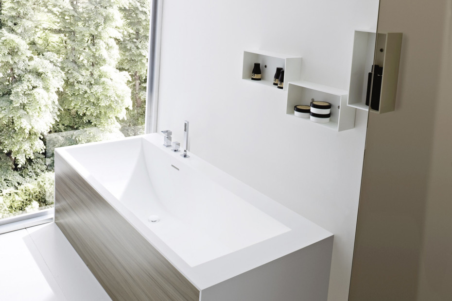 Giano bath shelf