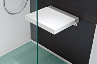 Giano shower stool  by  Rexa Design