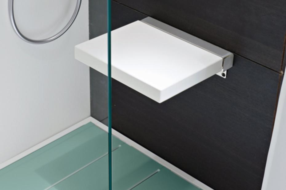 Giano shower stool by Rexa Design | STYLEPARK