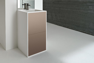 Giano washbasin with vanity unit  by  Rexa Design