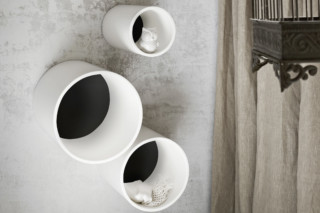 Hole bath shelf  by  Rexa Design