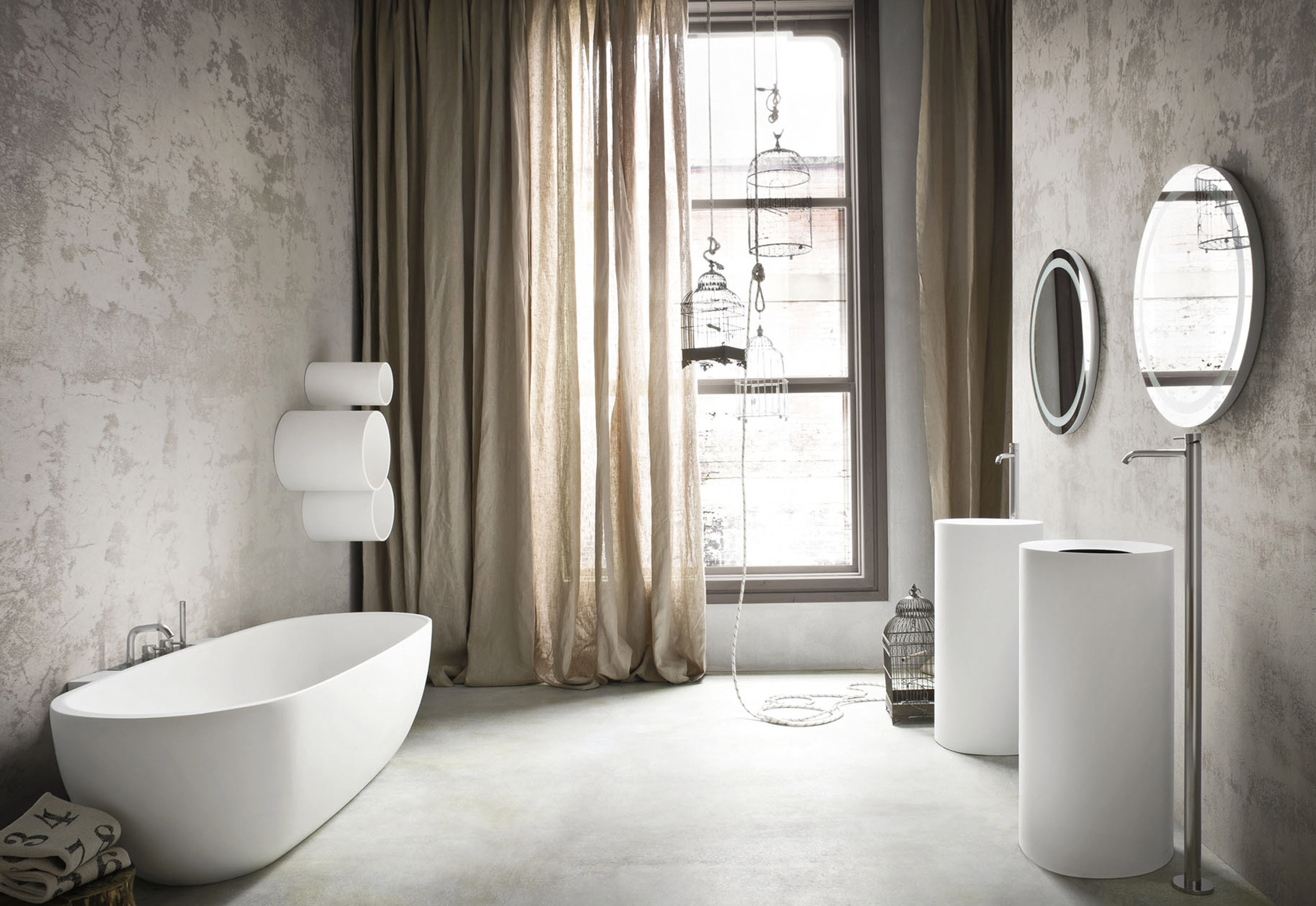 Hole bath shelf by Rexa Design | STYLEPARK