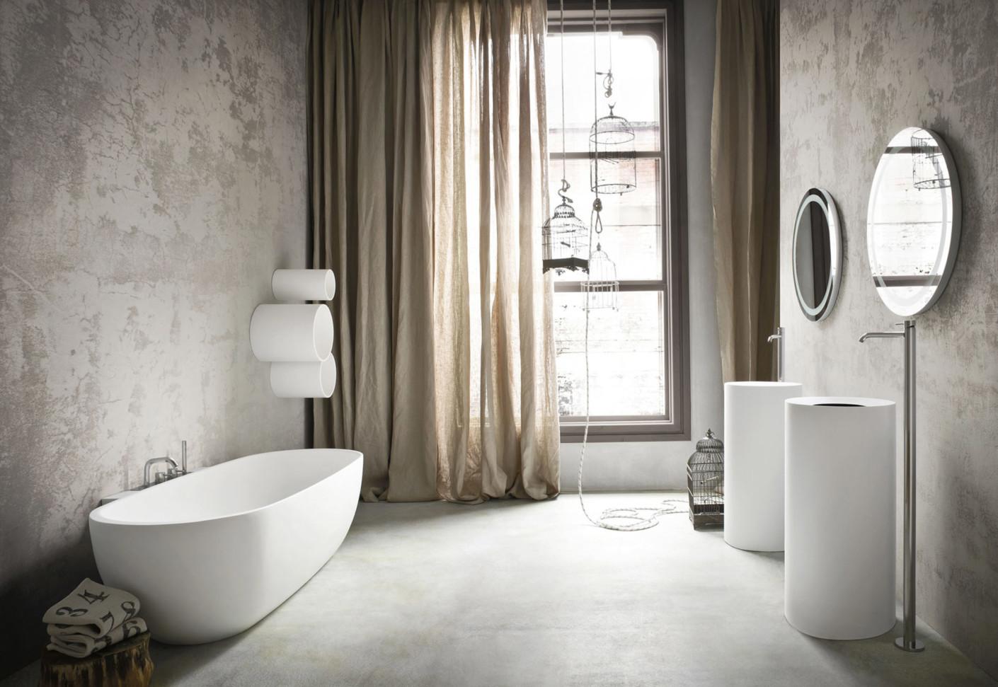 hole waschbecken freistehend von rexa design stylepark. Black Bedroom Furniture Sets. Home Design Ideas