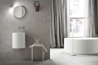 Hole washbasin hanging  by  Rexa Design