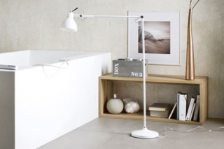Standing lamp with arm  by  Rexa Design