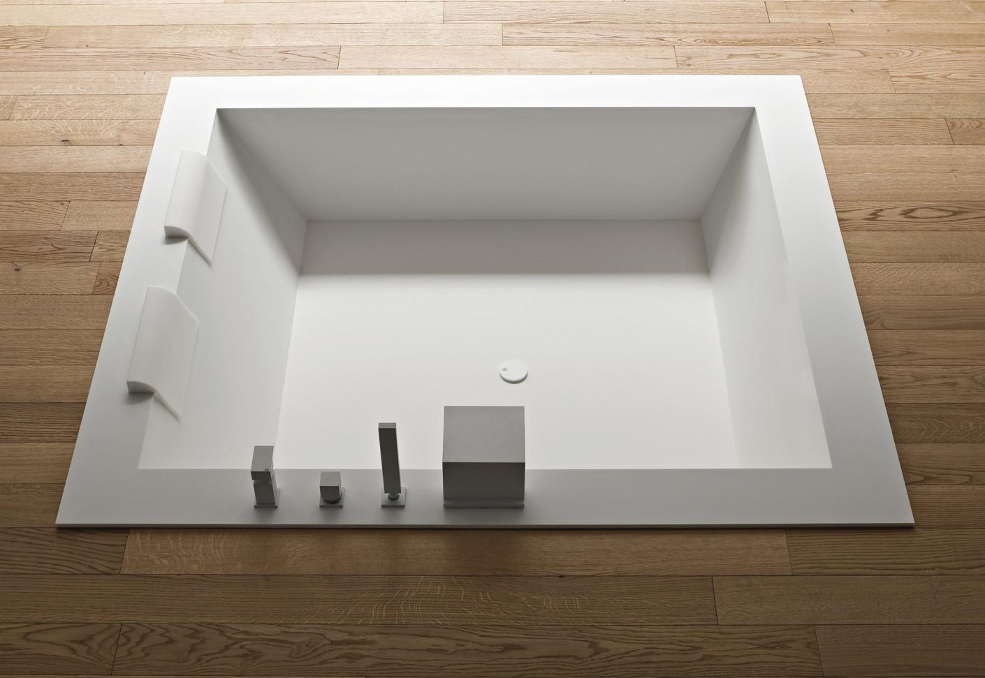 unico badewanne square by rexa design stylepark. Black Bedroom Furniture Sets. Home Design Ideas
