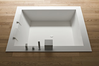 Unico badewanne square  by  Rexa Design