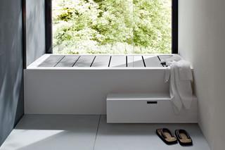 Unico bathtub with top cover  by  Rexa Design