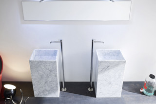 Unico marble washbasin  by  Rexa Design
