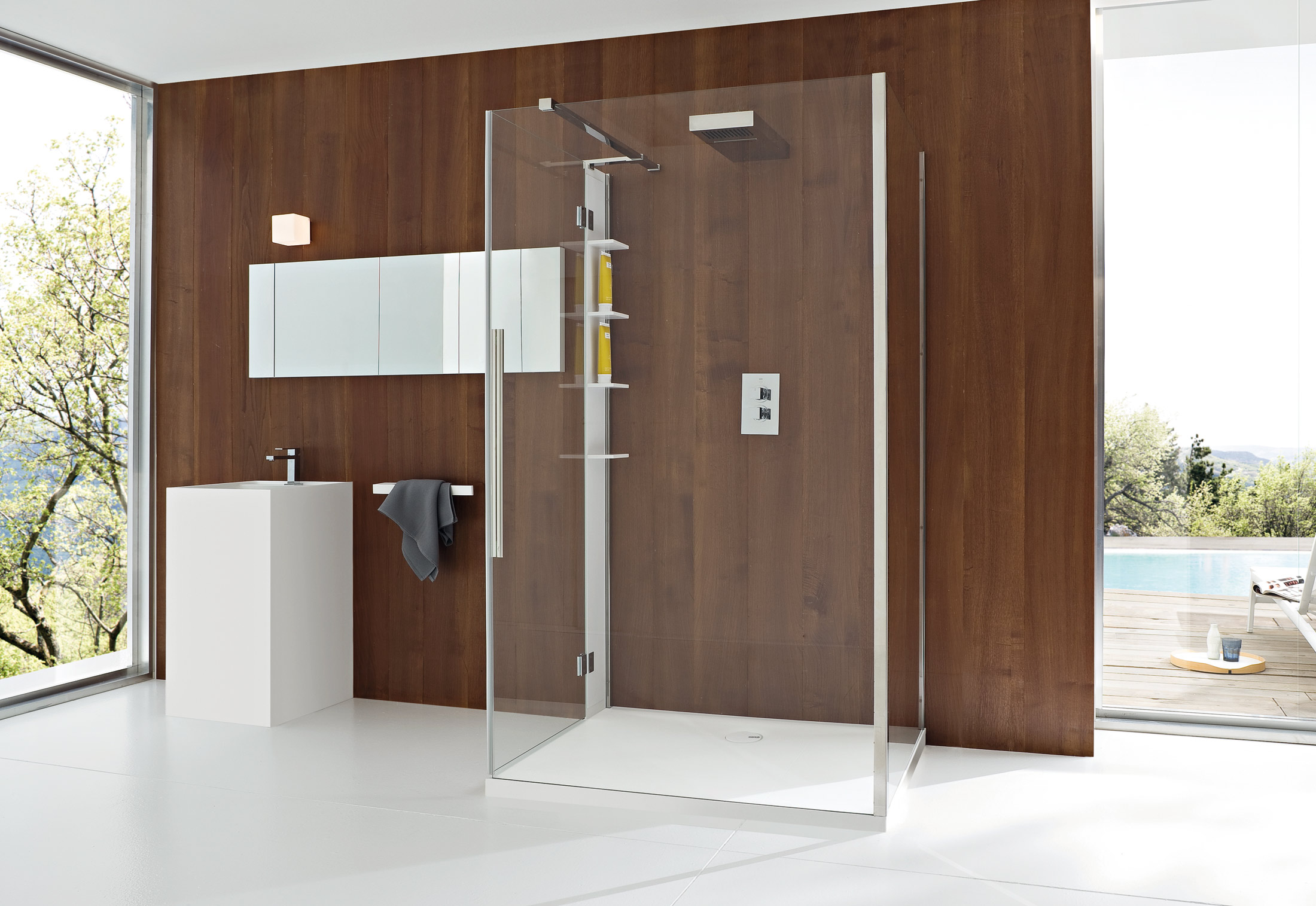 Unico shower system by Rexa Design | STYLEPARK