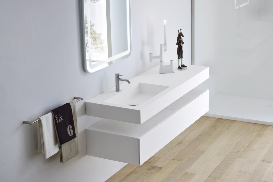 Unico washbasin integrated