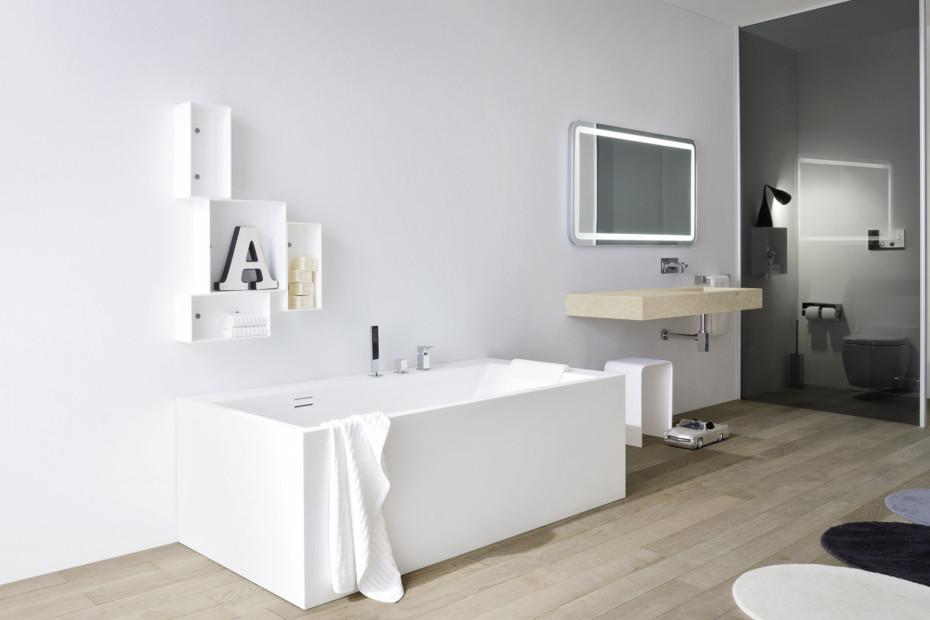 Unico washbasin integrated