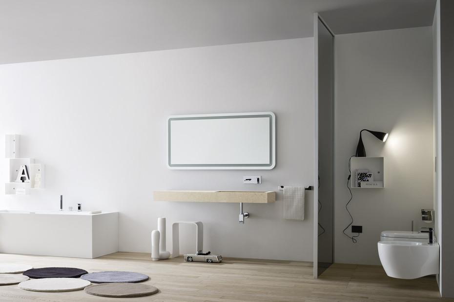 Unico Waschtisch integriert