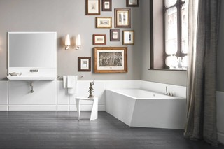 Warp bathtub  by  Rexa Design