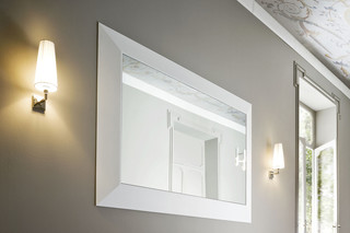 Warp mirror  by  Rexa Design