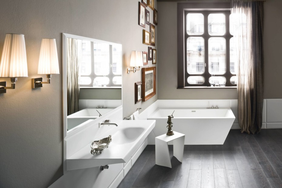 Warp wash basin