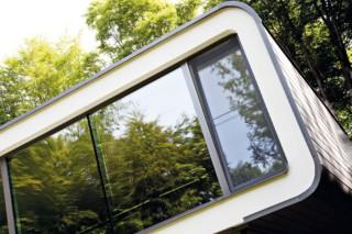 Villa Van Acker, CW 50, CP 155 Monorail, CS 86-HI , CS 77 (Schwingtür)  von  Reynaers