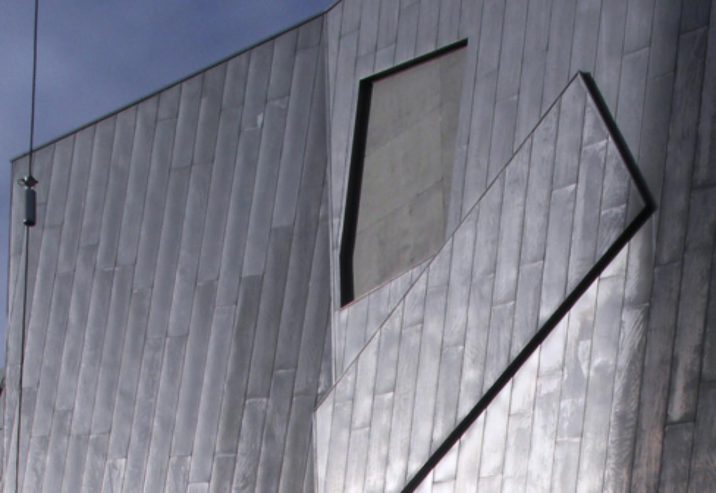 Grey Wood Panel Wall