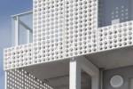 fibreC 3D, Lontoonkatu, round perforation