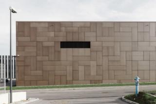 concrete skin, cultural centre St. Pölten, terra  by  Rieder