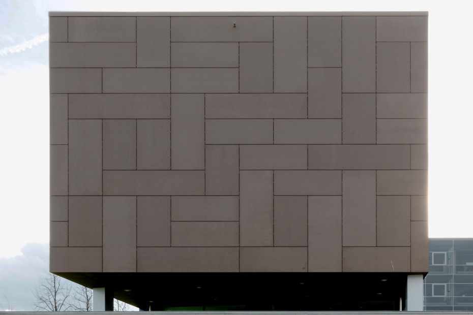 concrete skin, cultural centre St. Pölten, terra