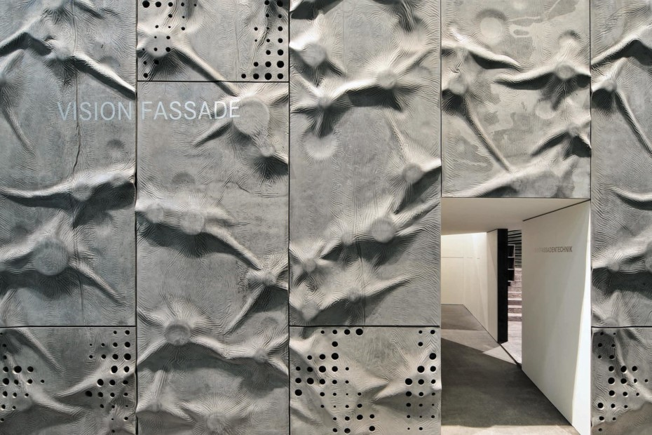 concrete skin covering, special