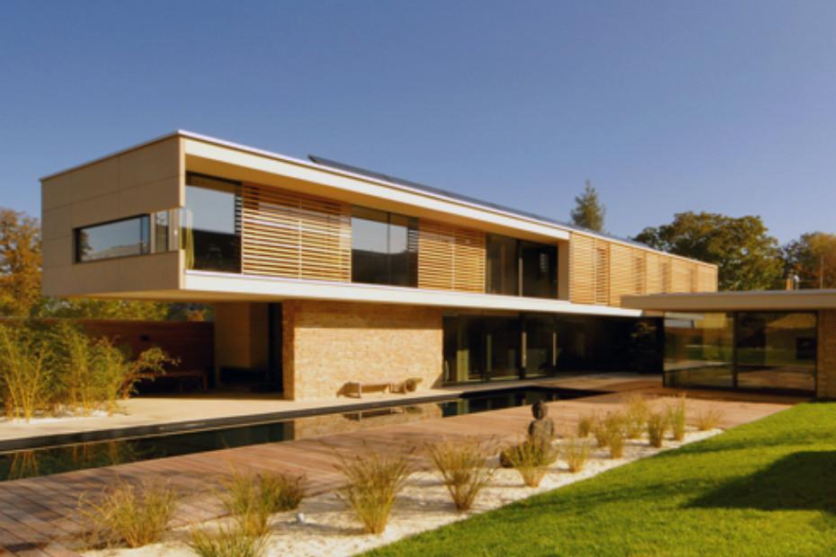 concrete skin, Haus A, sandstone