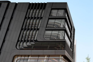 concrete skin, LLC Uni Wien, anthracite  von  Rieder