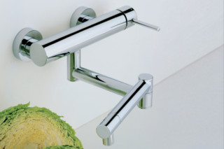 Cardano single lever kitchen basin mixer one piece  by  Ritmonio