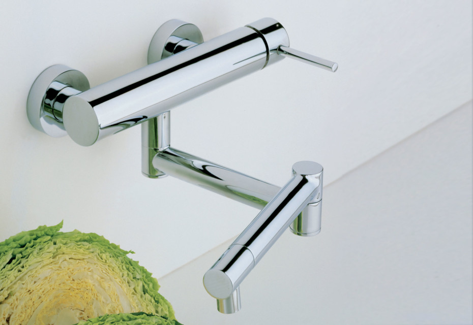 Cardano single lever kitchen basin mixer one piece