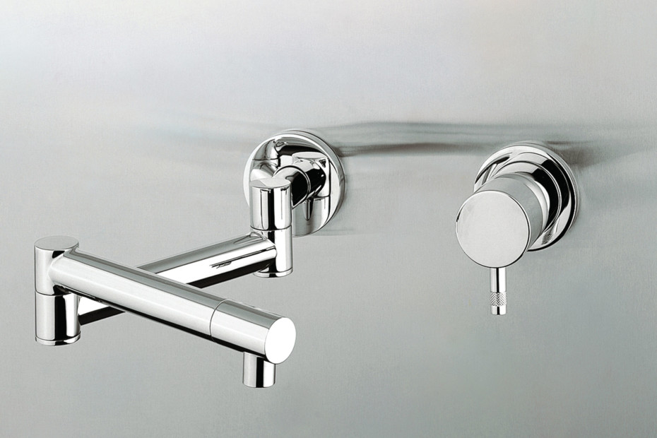 Cardano single lever kitchen basin mixer two pieces