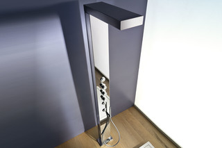 Clock work free standing shower  by  Ritmonio