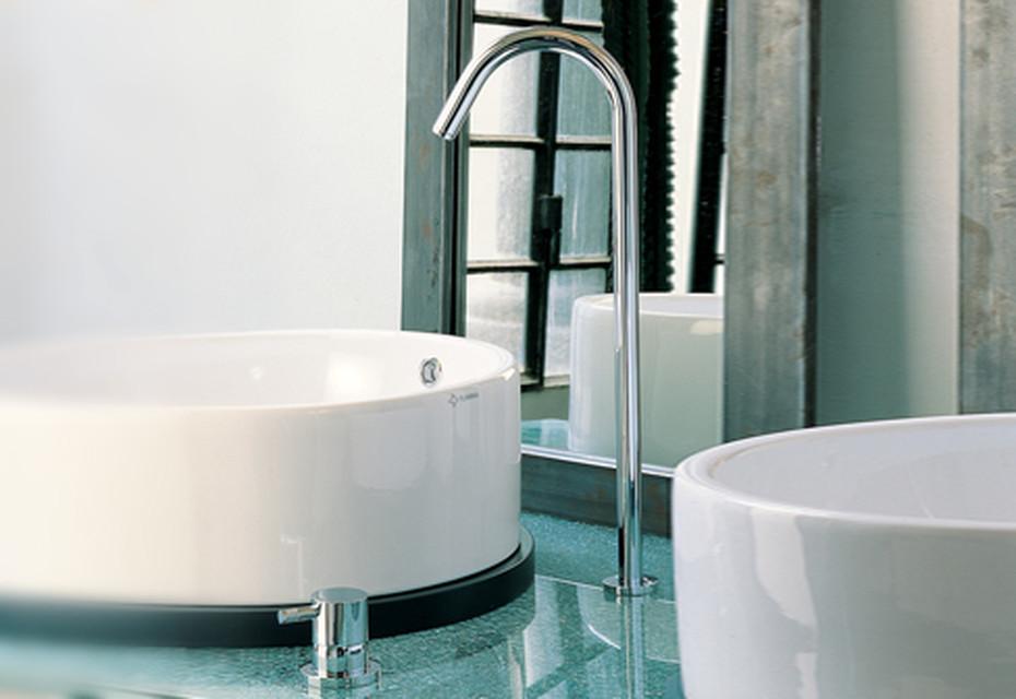 Diametrotrentacinque freestanding washing basin inlet
