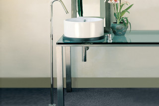 Diametrotrentacinque washing basin inlet free standing  by  Ritmonio