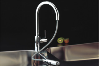 Ootd single lever kitchen basin mixer with movable inlet  by  Ritmonio