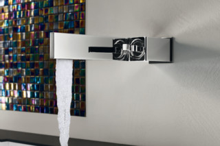 Tetris built-in basin mixer wall  by  Ritmonio